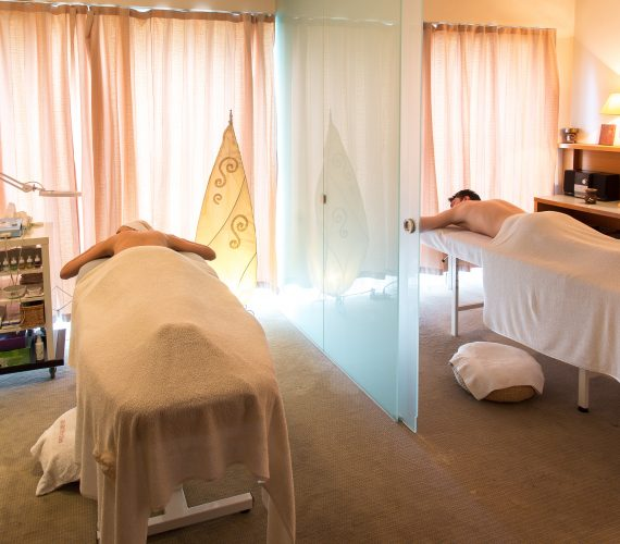 Wellness programme with spa massage
